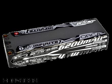 INFINITE ULTRA LiPo 6200mAh 7.4V 90C RACE PACK