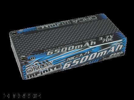INFINITE LiPo 6500mAh 3.7V 70C 1S RACE PACK