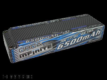 INFINITE LiPo 6500mAh 7.4V 70C RACE PACK