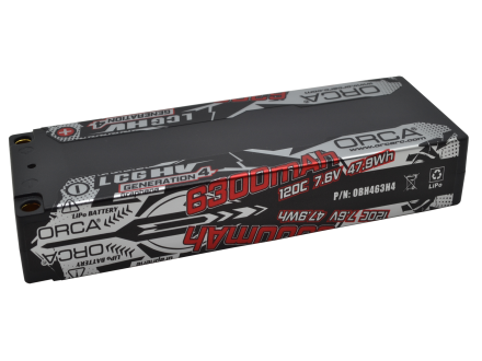 HV GENERATION4 LCG 6300mAh 7.6V RACE PACK
