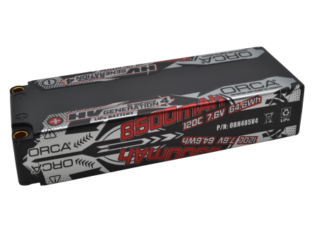 HV GENEARATION4 8500mAh 7.6V RACE PACK