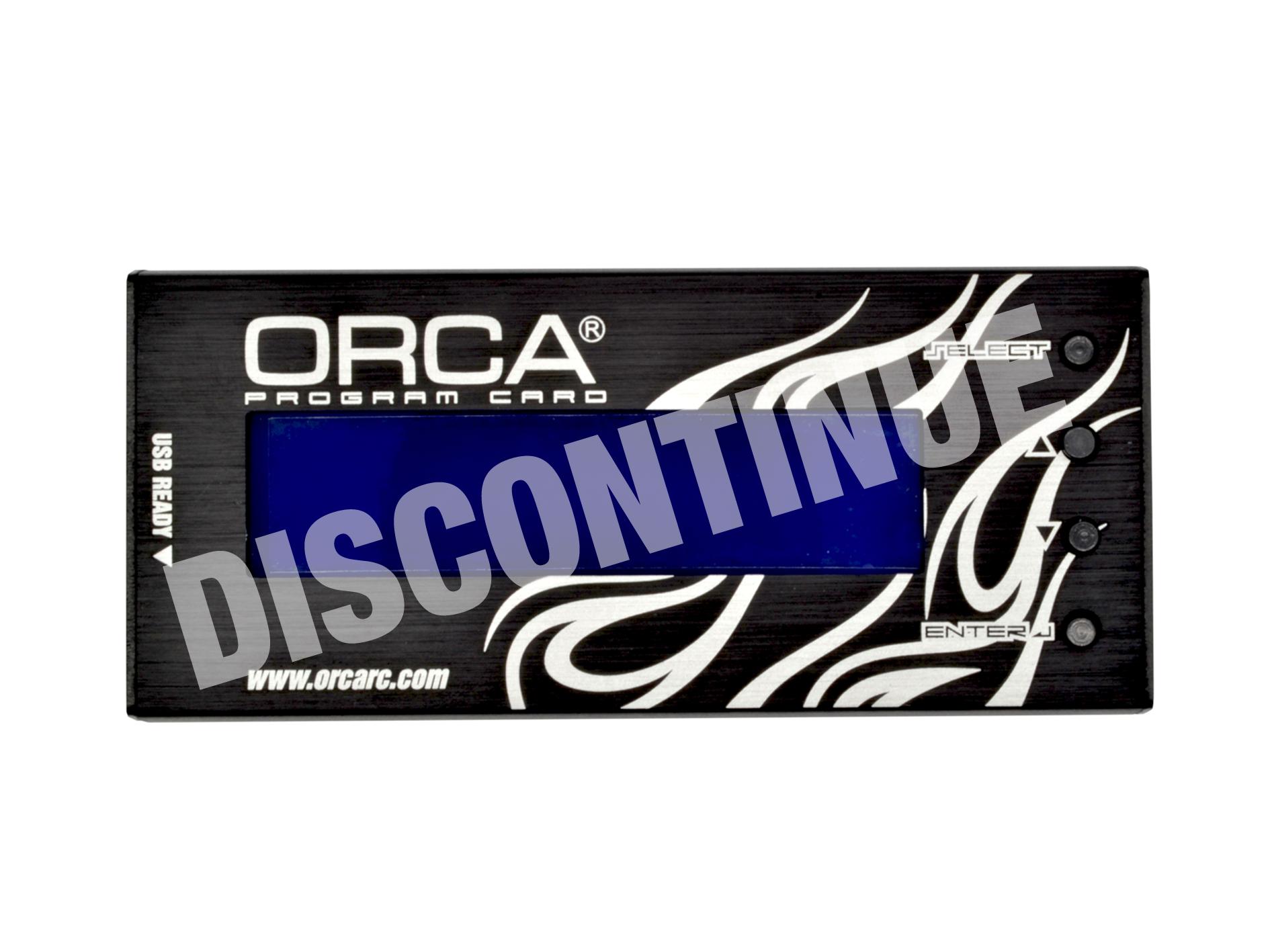 ORCA Program Card
